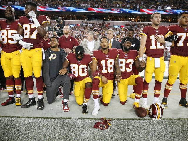 The NFL Doesn't Plan To Make Players Stand During The National Anthem