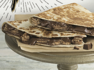 Taco Bell testing chocolate quesadillas