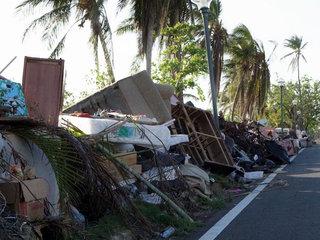 Puerto Rico finally begins clean-up