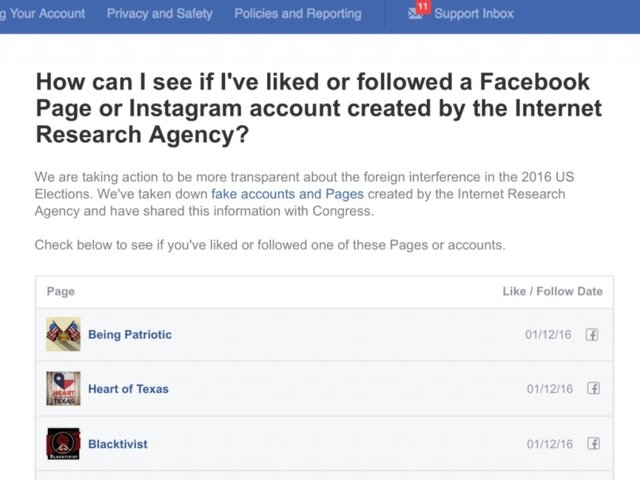 Facebook Will Soon Show You If You Fell For Any Russia-Linked Pages