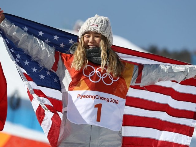 USA's Chloe Kim Definitely Lived Up To The Hype At The Winter Olympics