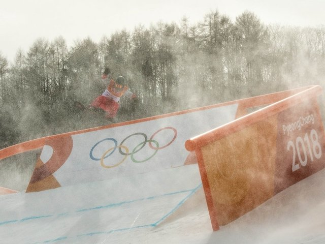 Strong Winds At The Winter Olympics Keep Causing Problems