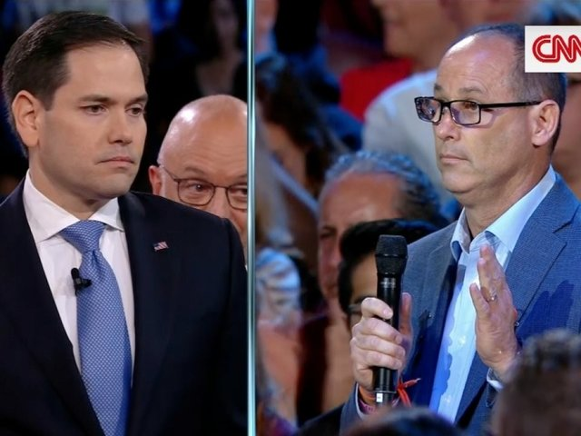 'Pathetically Weak': Florida Shooting Victim's Father Confronts Rubio