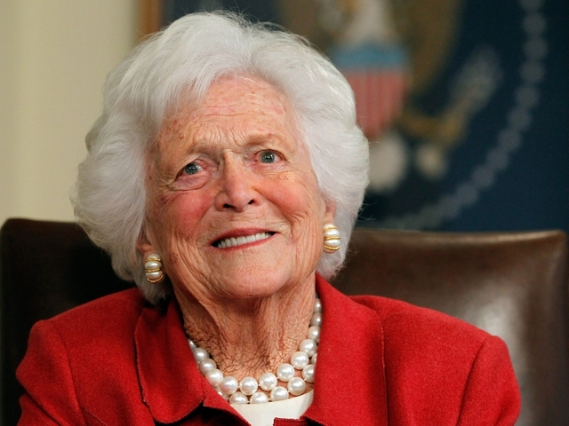 #N12BK: Barbara Bush dies at 92
