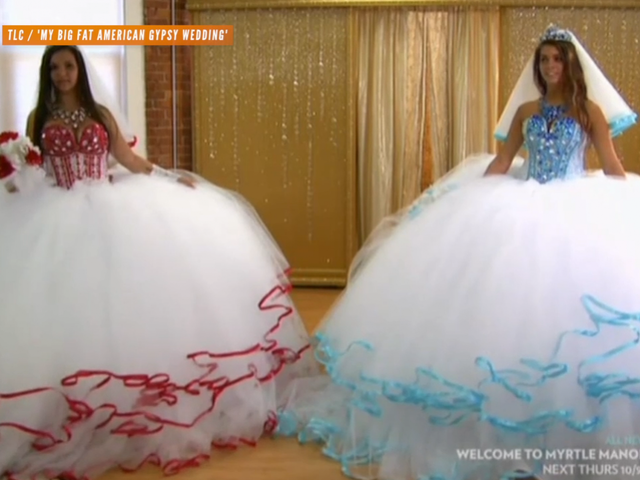 Two Sisters Battle For The Biggest \'Gypsy Wedding\' Dress - Newsy Story