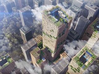 Tokyo building world's tallest wooden skyscraper