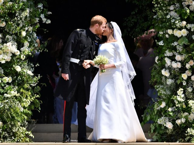 767189507 Prince Harry And Meghan Markle's Royal Wedding Broke With Tradition - Newsy  Story