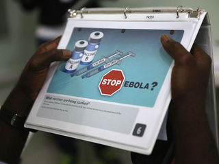 Officials work to stop Ebola outbreak in Congo