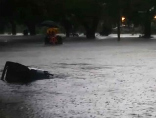 Flash floods hit coastal south Texas
