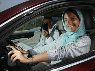 Driving ban ends for women in Saudi Arabia