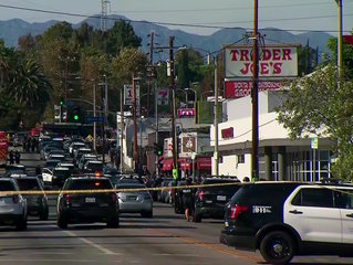 Woman killed inside LA store during standoff