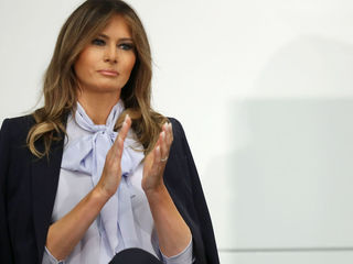 First lady's plane lands after mechanical issue