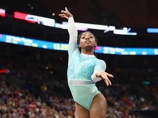 Simone Biles makes gymnastics history