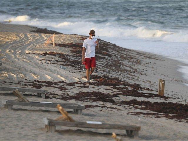 Hurricane Michael Shifts Red Tide Back Toward Florida's Gulf Coastline