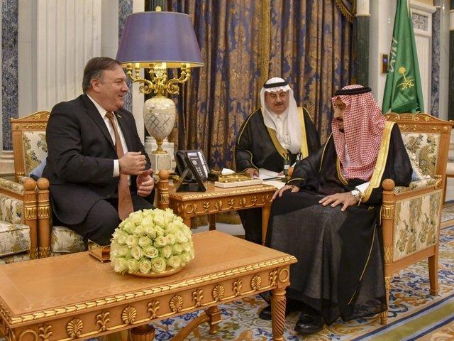 After Talks Over Khashoggi Case, Pompeo Emphasizes US-Saudi Alliance