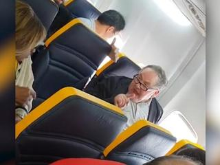 Watch: Man launches into racist rant on plane