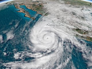 Hurricane Willa now Category 5 storm