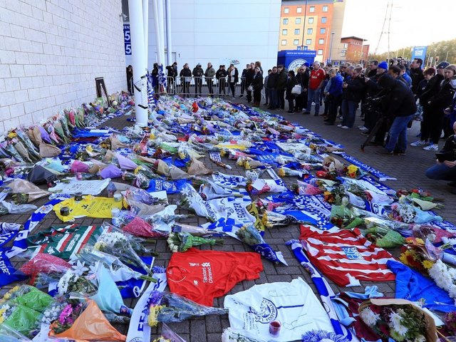 Leicester City Waits For News Of Club Owner After Helicopter Crash