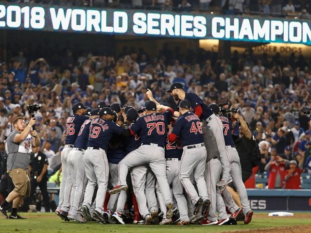 Red Sox Beat The Dodgers To Win 9th World Series Title